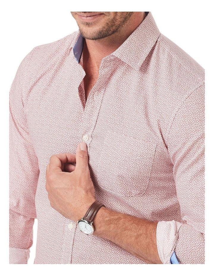 Tailored Smart Leaf Print Long Sleeve Shirt image 3