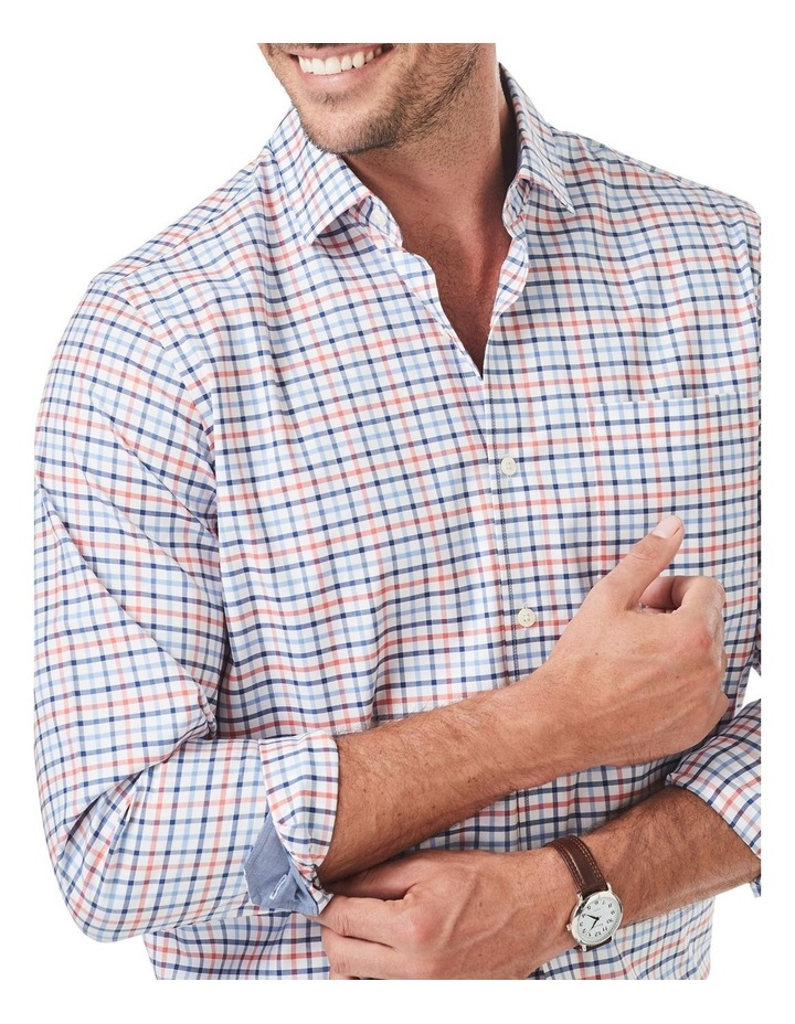 Easy Care Twill Multi Check Long Sleeve Shirt image 3