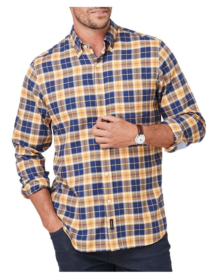 Brushed Twill Plaid Check Long Sleeve Shirt image 1
