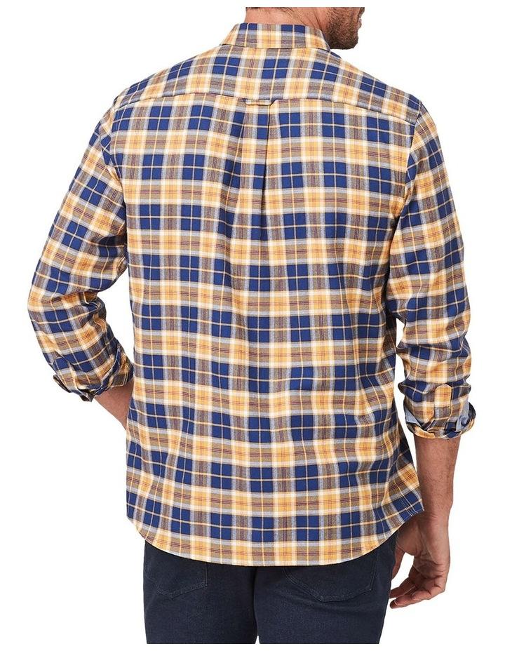 Brushed Twill Plaid Check Long Sleeve Shirt image 2