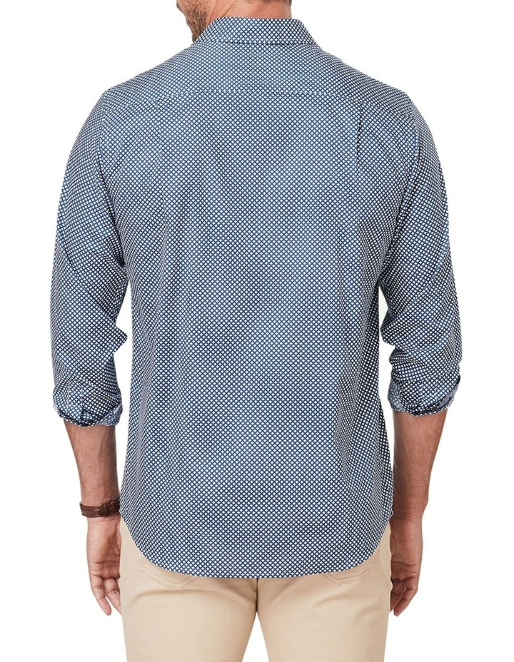 Smart Geo Print Long Sleeve Shirt image 2