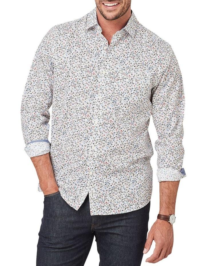 Smart Floral Print Long Sleeve Shirt image 1