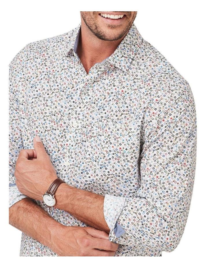 Smart Floral Print Long Sleeve Shirt image 3