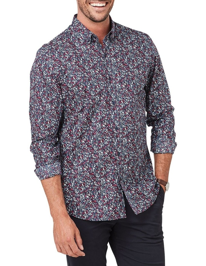 Tailored Smart Floral Print Long Sleeve Shirt image 1