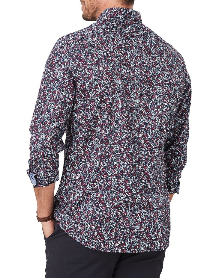 Tailored Smart Floral Print Long Sleeve Shirt image 2
