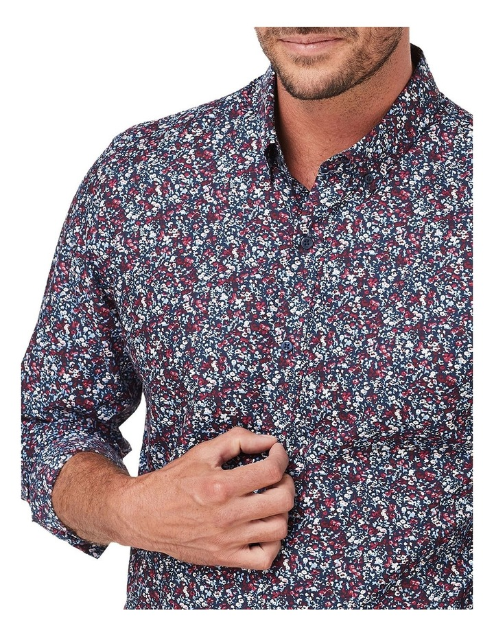 Tailored Smart Floral Print Long Sleeve Shirt image 3