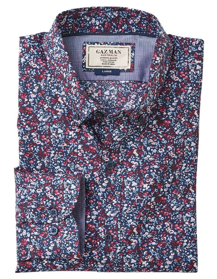 Tailored Smart Floral Print Long Sleeve Shirt image 4