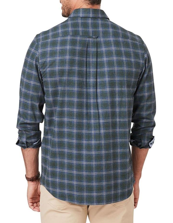 Brushed Twill Melange Check Long Sleeve Shirt image 2