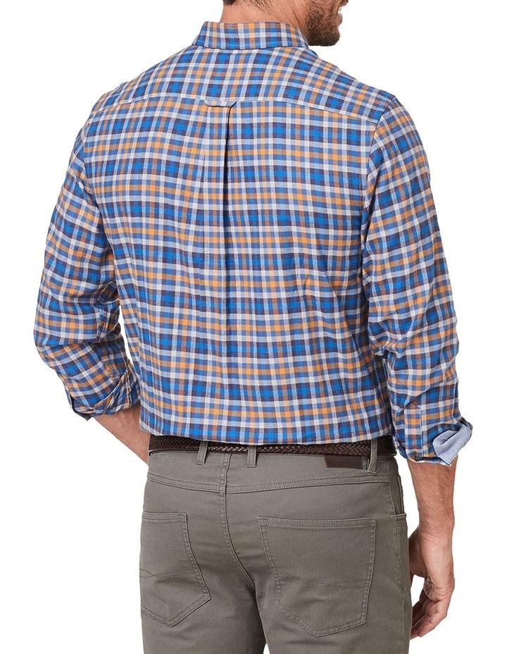 Brushed Twill Check Long Sleeve Shirt image 2