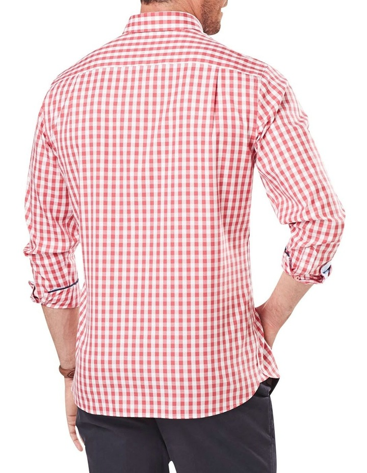Wrinkle Free Oxford Check Long Sleeve Shirt image 2