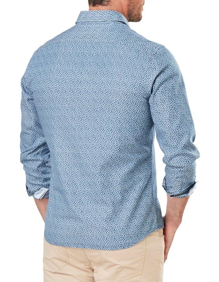 Casual Denim Print Long Sleeve Shirt image 2