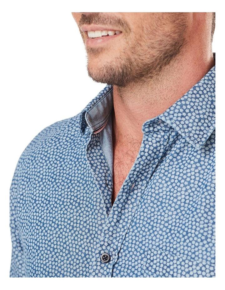 Casual Denim Print Long Sleeve Shirt image 3
