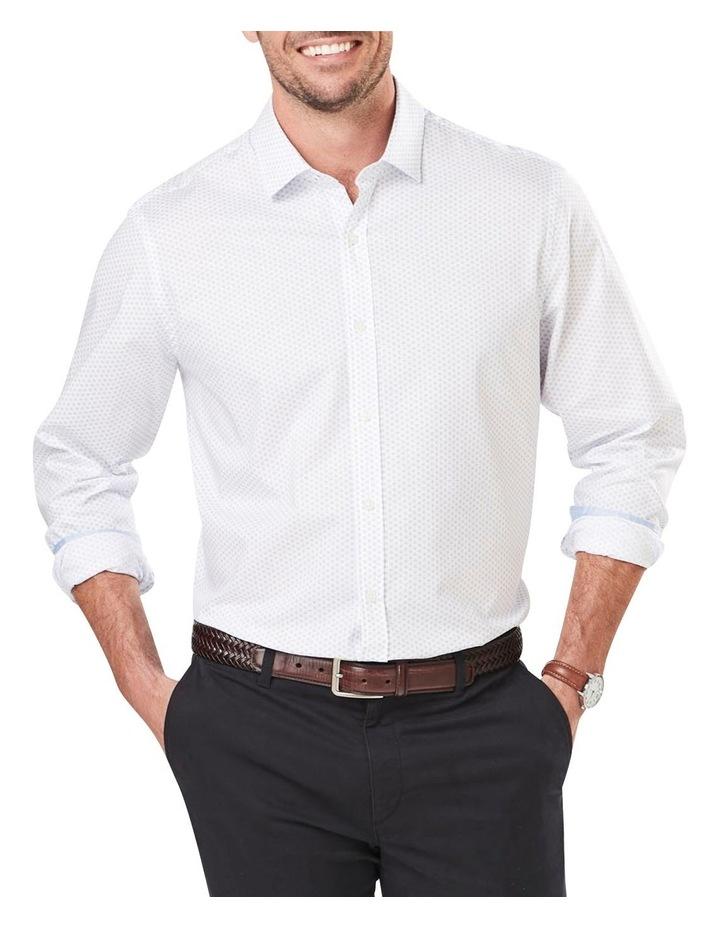 Classic Smart Geo Print Long Sleeve Shirt image 1