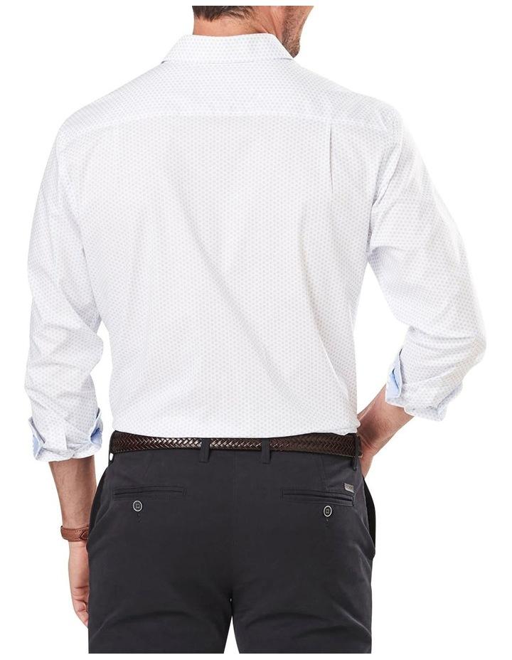 Classic Smart Geo Print Long Sleeve Shirt image 2