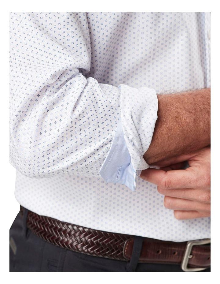 Classic Smart Geo Print Long Sleeve Shirt image 3