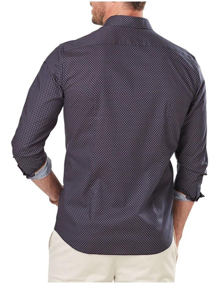Tailored Smart Geo Print Long Sleeve Shirt image 2
