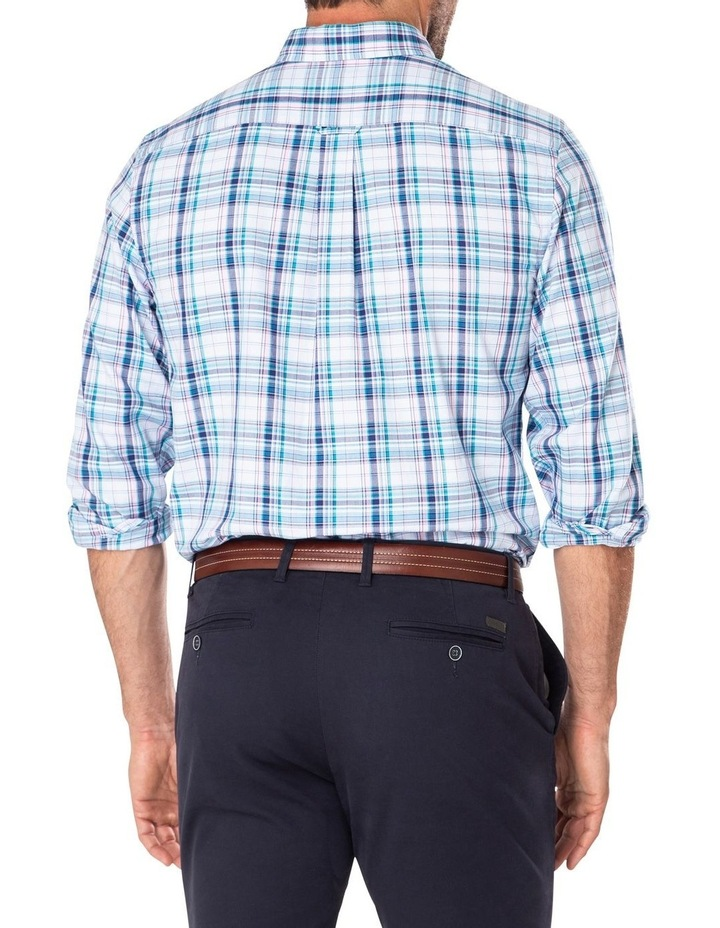 Easy Care Oxford Multi Check Long Sleeve Shirt image 2