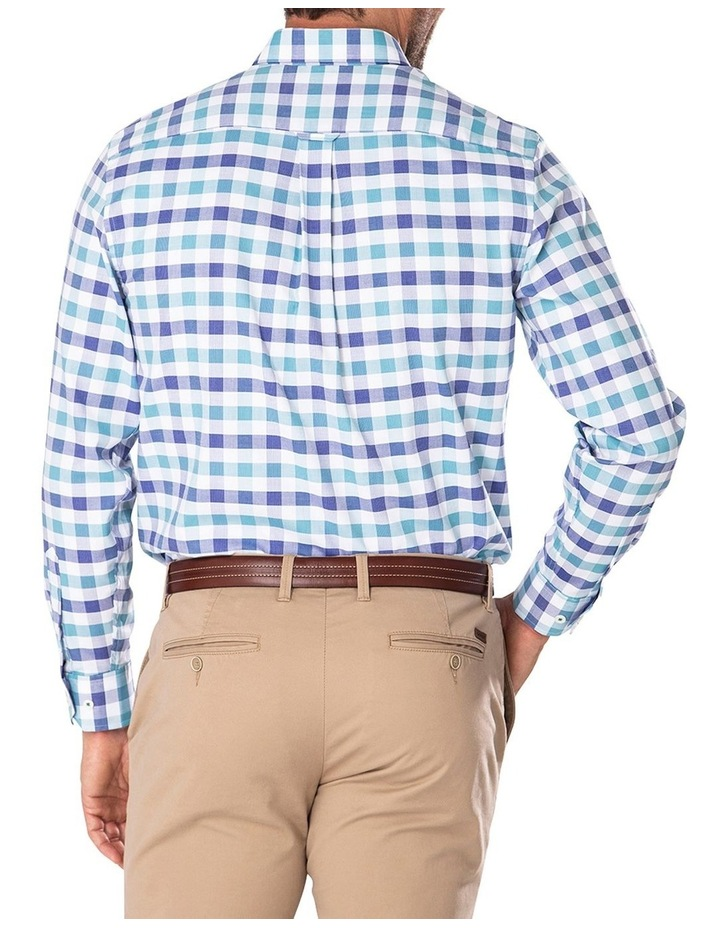 Easy Care Dobby Check Long Sleeve Shirt image 2