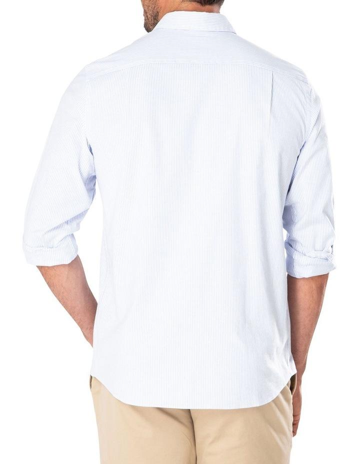 Casual Oxford Bengal Stripe Long Sleeve Shirt image 2