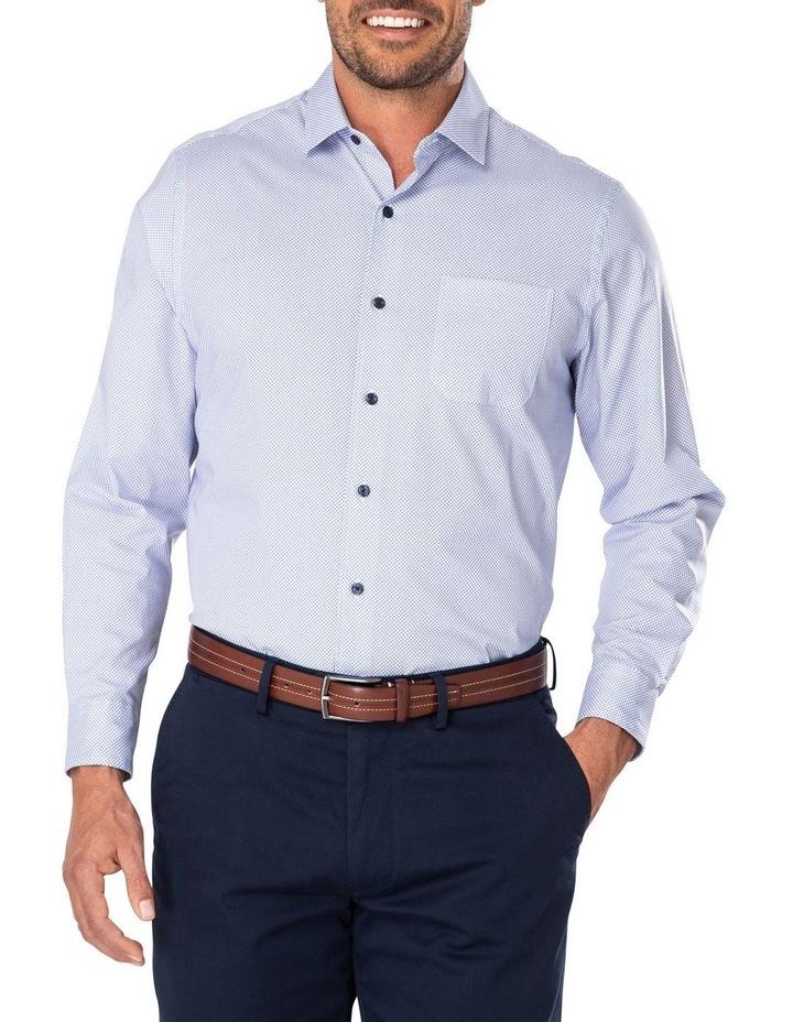 Smart Diamond Geo Print Long Sleeve Shirt image 1