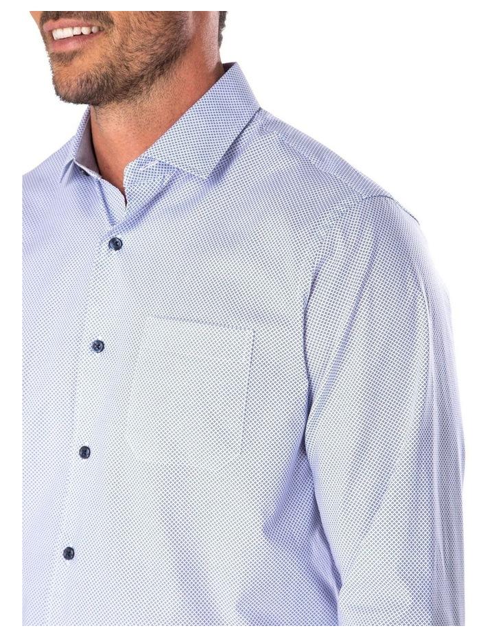 Smart Diamond Geo Print Long Sleeve Shirt image 3
