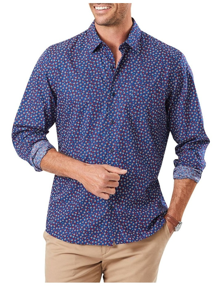 Tailored Floral Print Long Sleeve Shirt image 1
