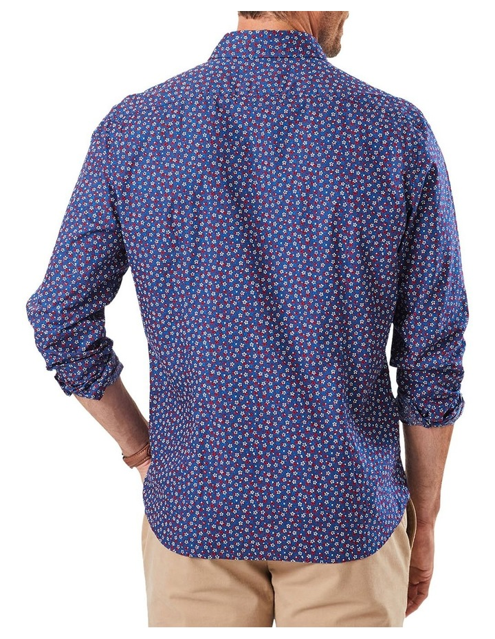 Tailored Floral Print Long Sleeve Shirt image 2