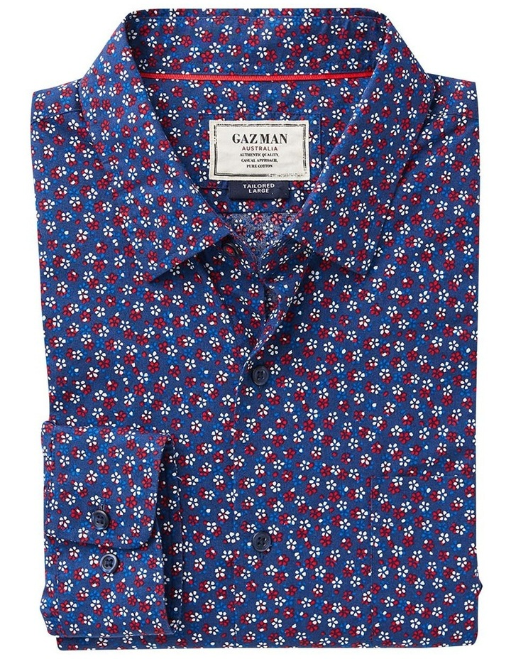 Tailored Floral Print Long Sleeve Shirt image 4