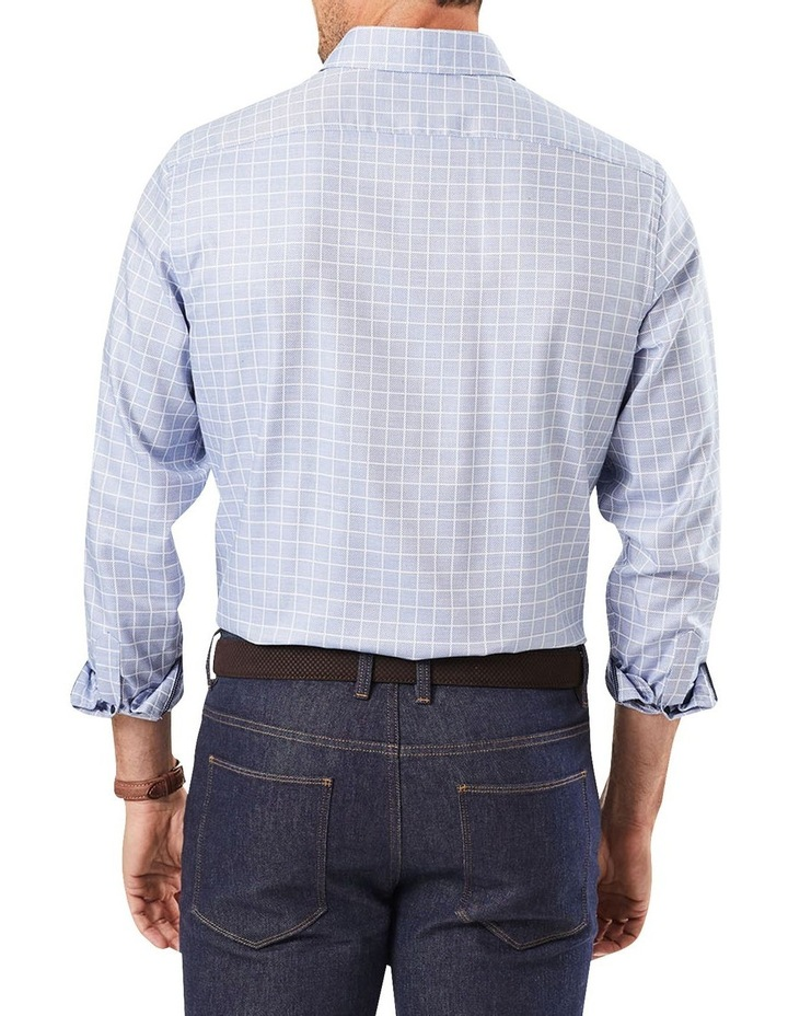 Tailored Dobby Check Long Sleeve Shirt image 1