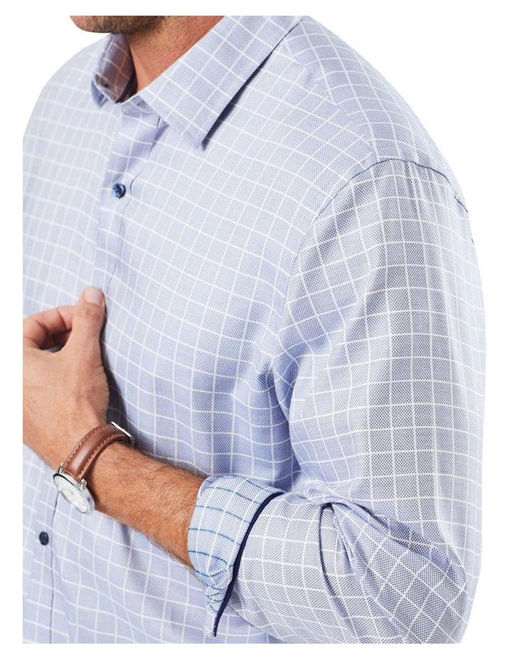 Tailored Dobby Check Long Sleeve Shirt image 2
