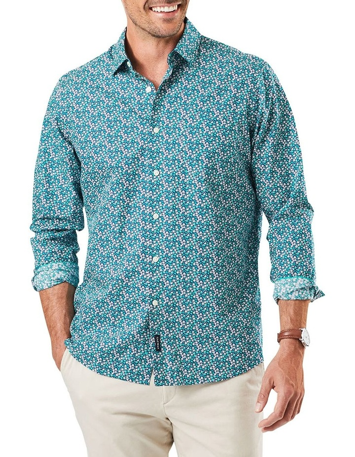 Floral Print Long Sleeve Shirt image 1