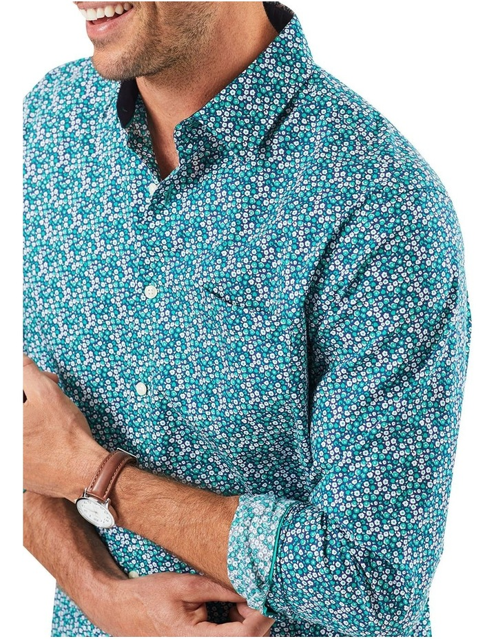 Floral Print Long Sleeve Shirt image 3