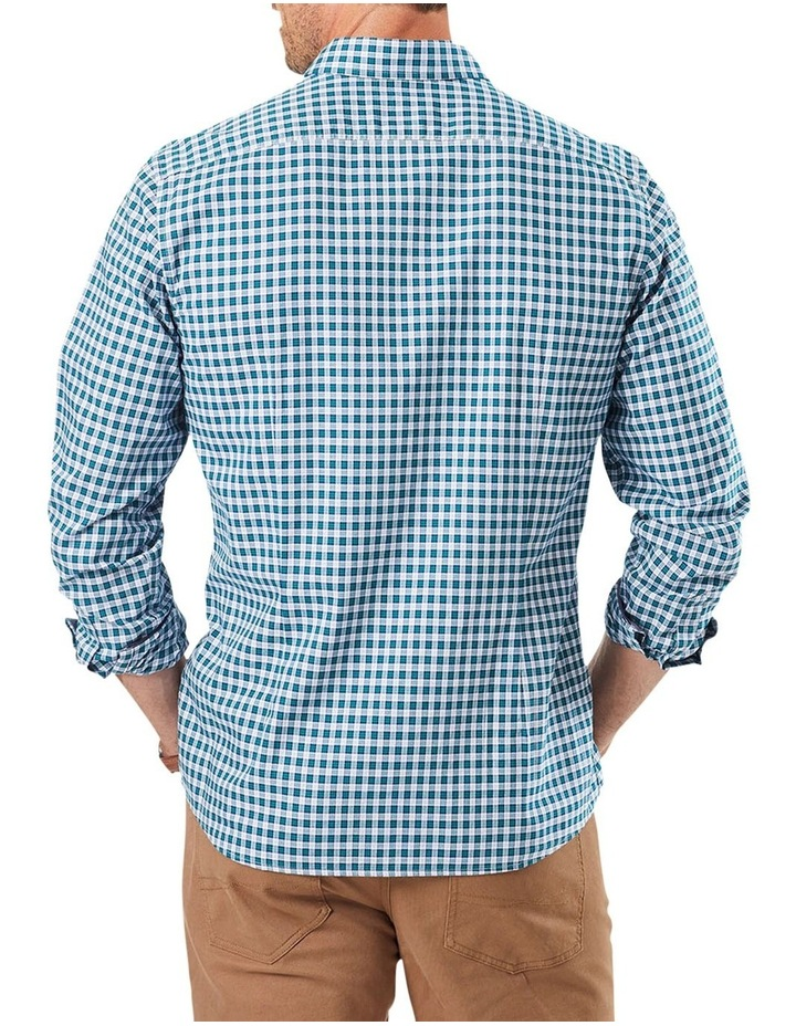 Tailored Oxford Check Long Sleeve Shirt image 2