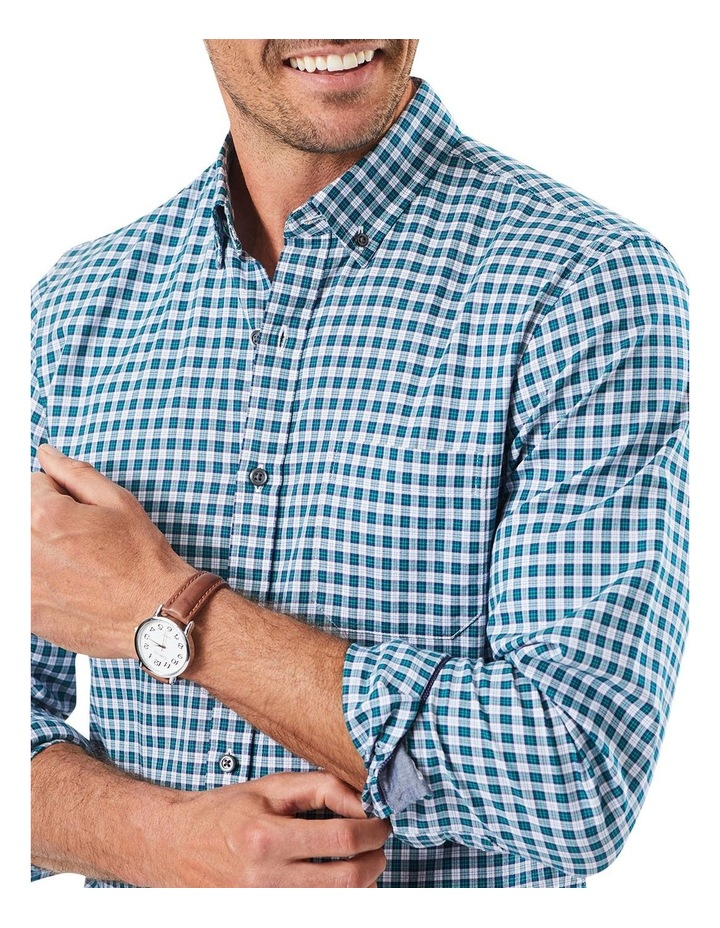 Tailored Oxford Check Long Sleeve Shirt image 3