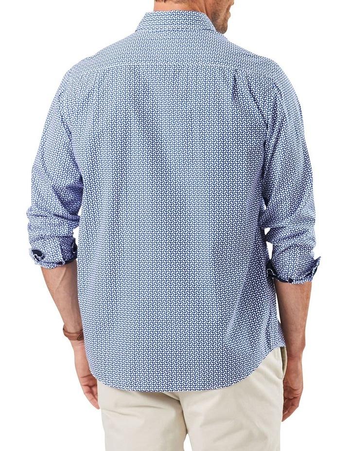 Casual Geo Print Long Sleeve Shirt image 2