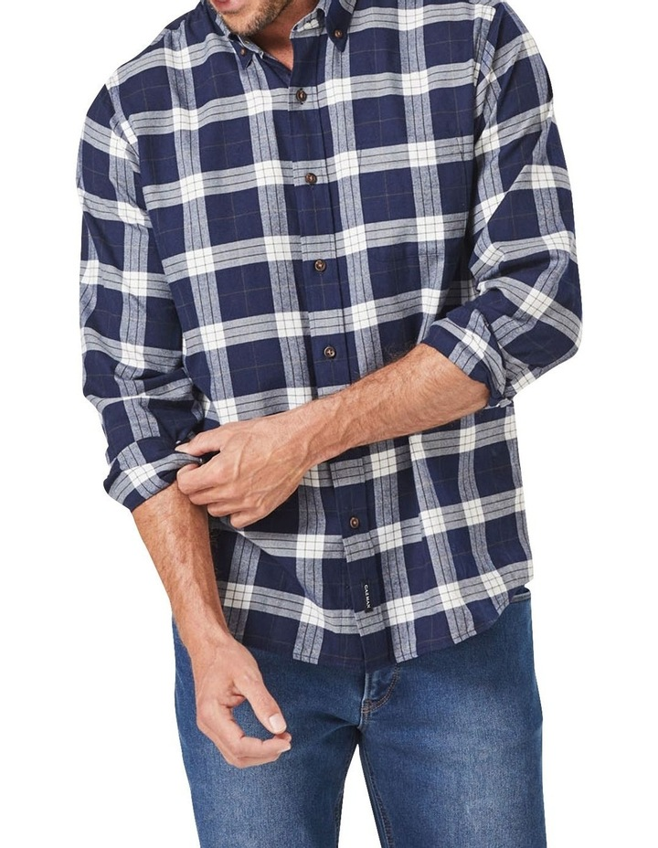 Brushed Twill Check Long Sleeve Shirt image 1