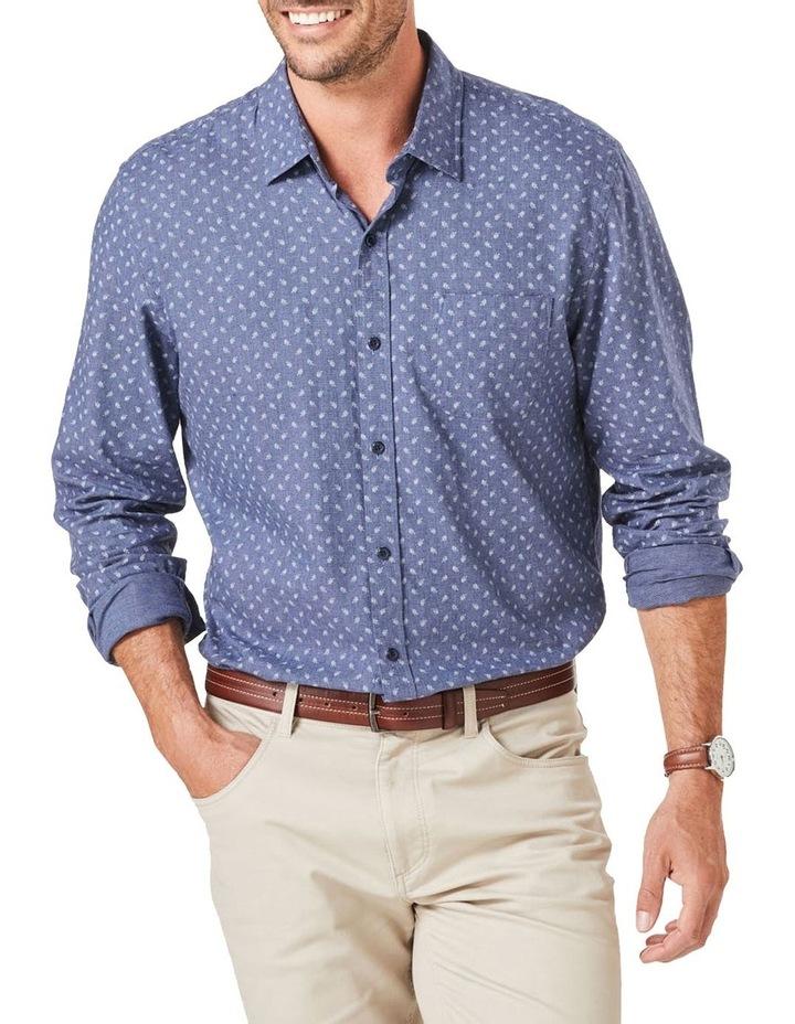Tailored Brushed Fern Pring Long Sleeve Shirt image 1