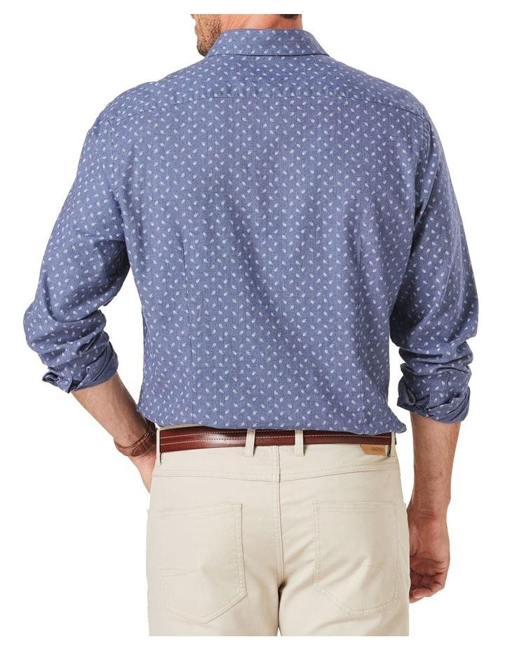 Tailored Brushed Fern Pring Long Sleeve Shirt image 2