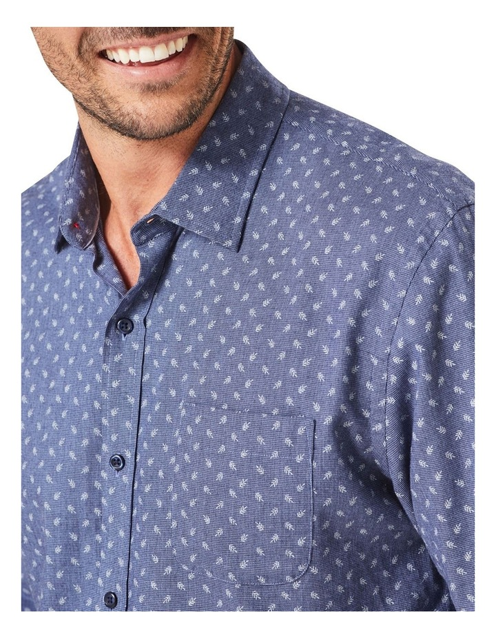 Tailored Brushed Fern Pring Long Sleeve Shirt image 3