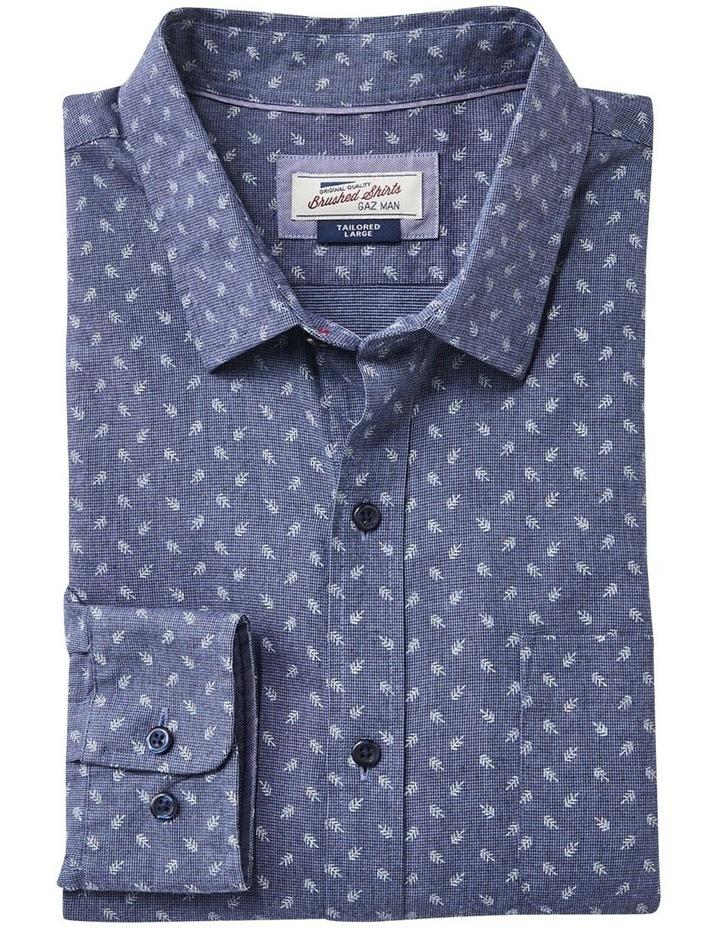 Tailored Brushed Fern Pring Long Sleeve Shirt image 5