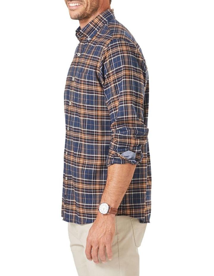 Brushed Multi Twill Check Long Sleeve Shirt image 3
