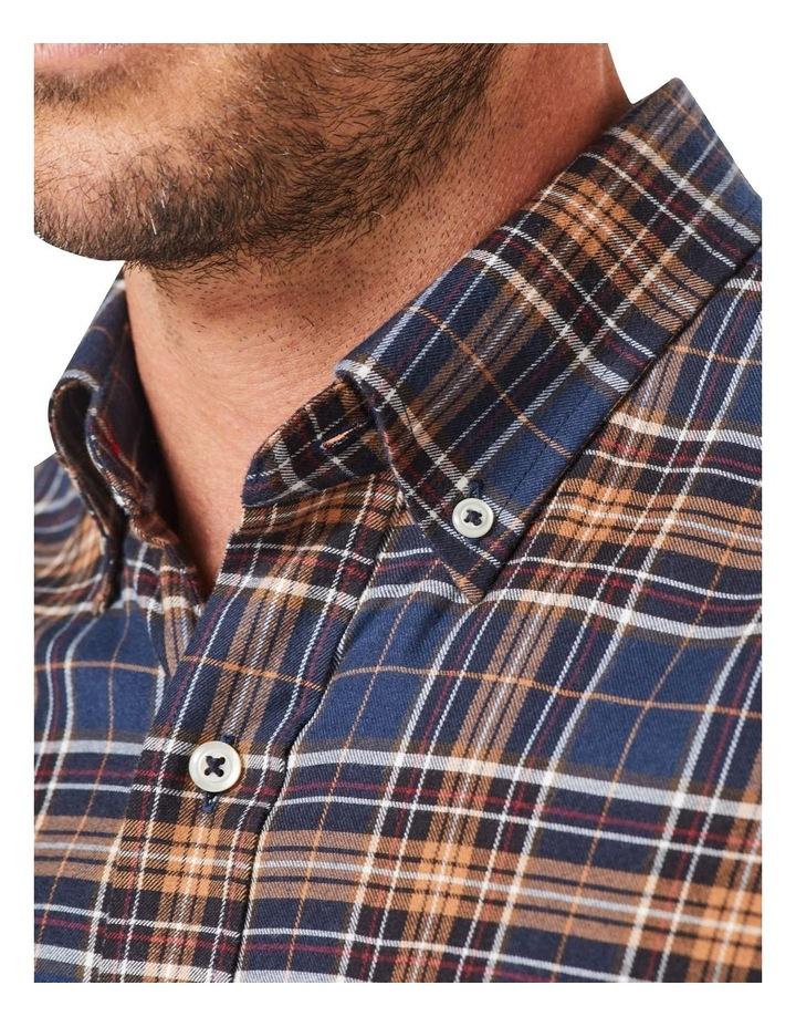 Brushed Multi Twill Check Long Sleeve Shirt image 5