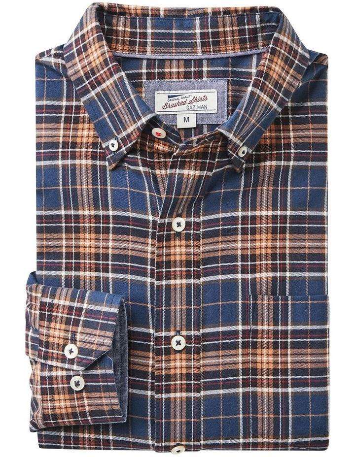 Brushed Multi Twill Check Long Sleeve Shirt image 6