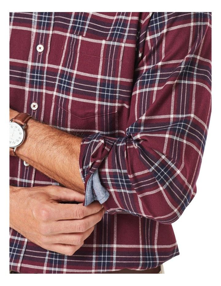 Brushed Twill Check Long Sleeve Shirt image 3