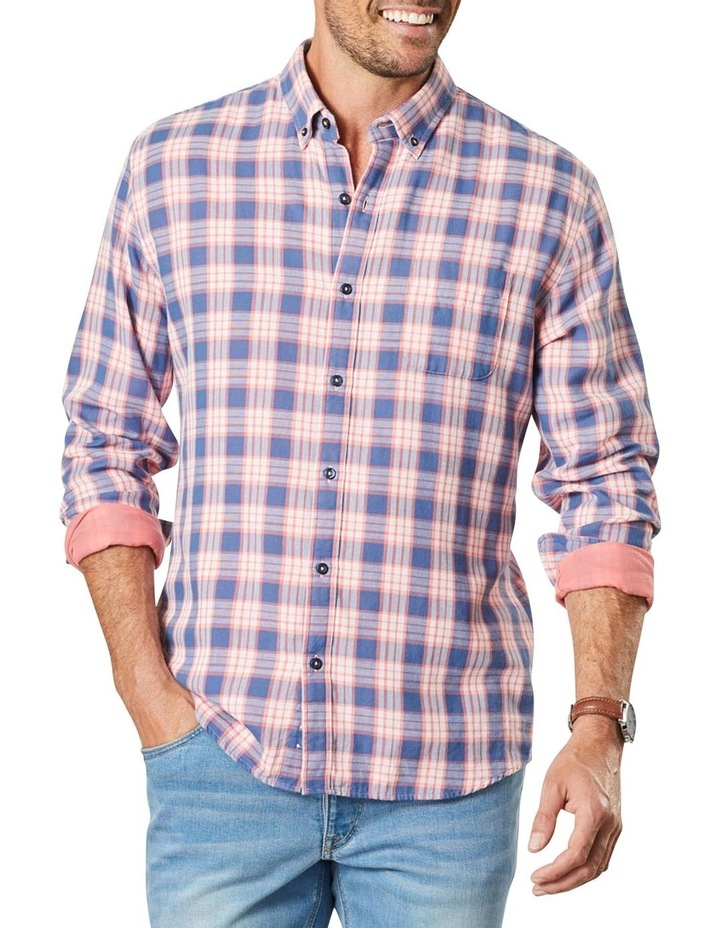 Double Faced Check Long Sleeve Shirt image 1
