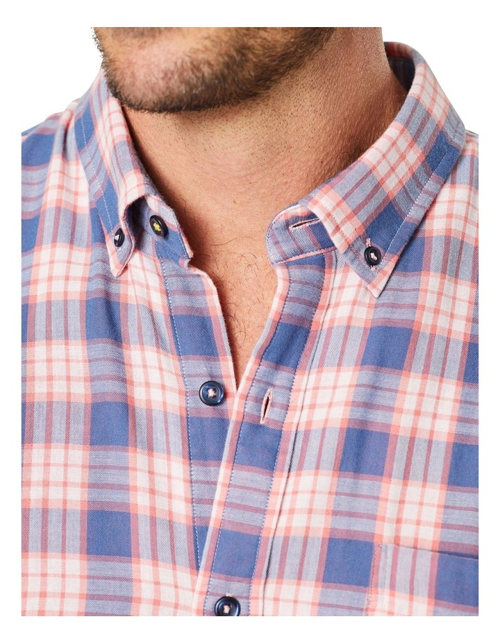 Double Faced Check Long Sleeve Shirt image 4