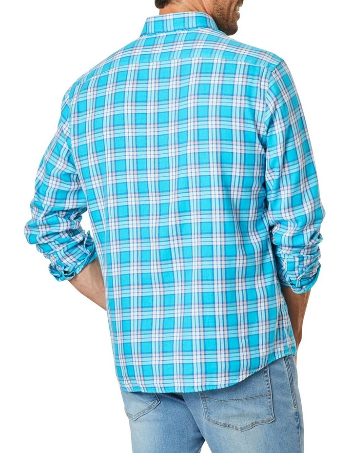 Double Faced Check Long Sleeve Shirt image 2
