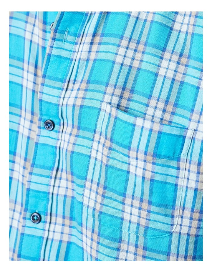 Double Faced Check Long Sleeve Shirt image 5