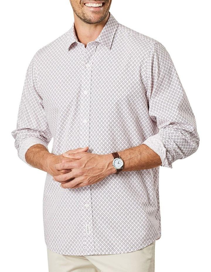 Casual Floral Print Long Sleeve Shirt image 1