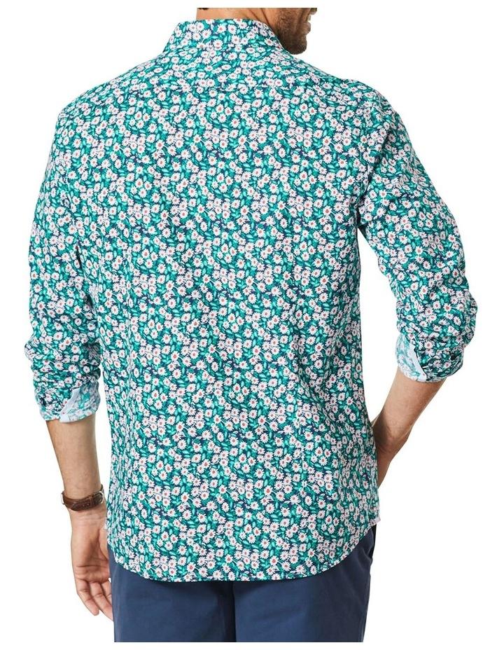Casual Floral Print Long Sleeve Shirt image 2